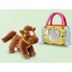 Brown Western Horse Pet Purse
