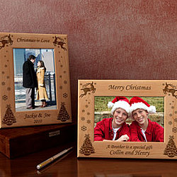 Personalized Make Your Own Christmas Wooden Picture Frame