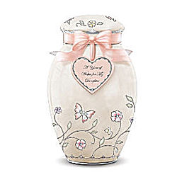 A Year of Wishes Ginger Jar Music Box for A Daughter