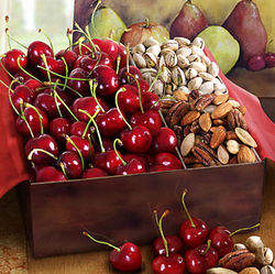 Sweet Bing Cherry, Pistachio & Mixed Nut Gift Box