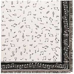 Musical Notes Afghan