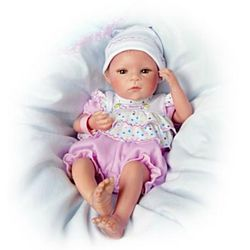 I'm A Special Blessing Lifelike Newborn Baby Girl Doll
