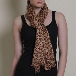 Azuri Leopard Scarf
