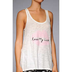 Simply Irresistible Read My Lips Tank