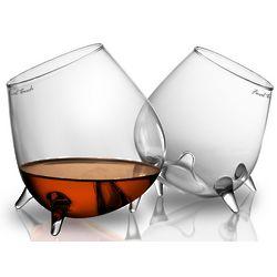 Contour Warming Cognac and Brandy Glasses