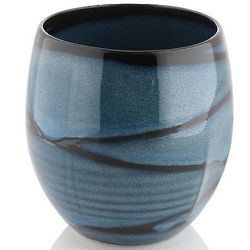 Blue Tiger Stoneware Tea Cup