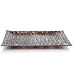 Glass Mosaic Serving Tray