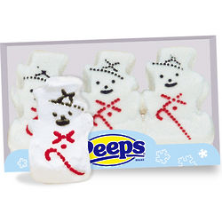 Peeps Snowmen Package