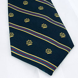 Scales of Justice Neck Tie
