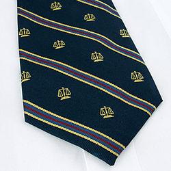 Scales of Justice Neck Tie