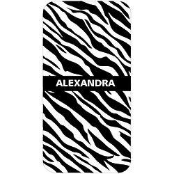 Personalized Zebra Design iPhone Case