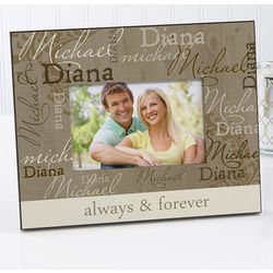Loving Couple Personalized Photo Frame