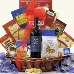Boston Red Sox The Closer Cabernet Sauvignon Wine Gift Basket