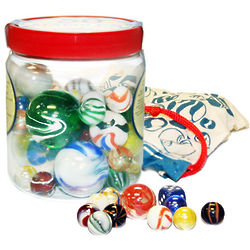 Tub of Retro Marbles