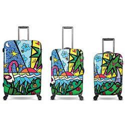 Flamingos Design Hardside Luggage