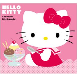 Hello Kitty Day Dream Wall Calendar