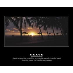 Peace Premium Luster Print