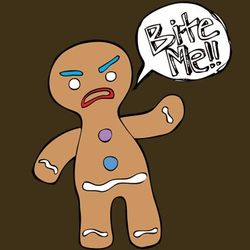 Bite Me Gingerbread T-Shirt