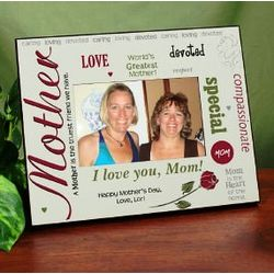 Greatest Mother Personalized Photo Frame