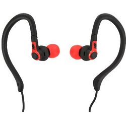 2-in-1 Sport Earbuds in Red