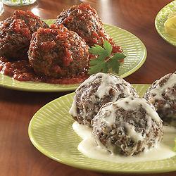 Italian Meatballs with Sauce