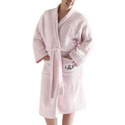 Light Pink Chenille Robe