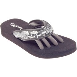 Women's Glam Sequin Sandals