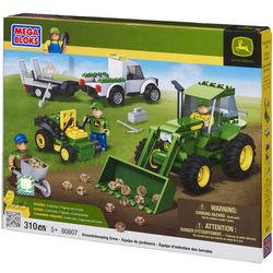 John Deere Mega Bloks Groundskeeping Crew Toy