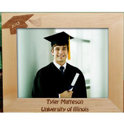 Personalized Wooden Graduation Frame