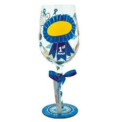 Personalized You're the Best Wine Glass