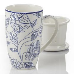 Morning Glory Infuser Mug