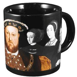 Henry VIII Heat Sensitive Mug