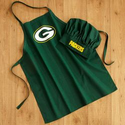 Tailgate NFL Apron and Chef's Hat