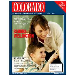 Personalized Teacher Magazine Cover Print