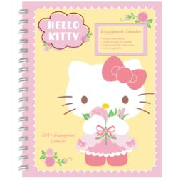 Hello Kitty Monthly and Weekly Planner