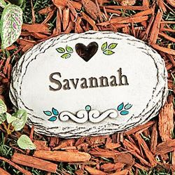 Personalized Child's Stepping Stone
