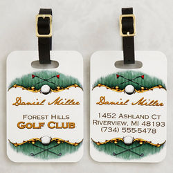 Golf Course Personalized Bag Tag
