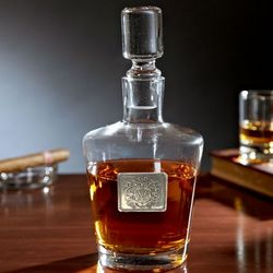 Bryant Royal Crested Liquor Decanter