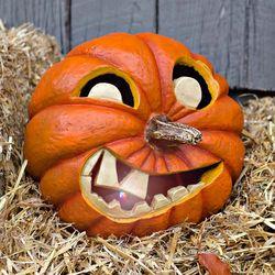 Halloween All-Weather LED Jack-O-Lantern