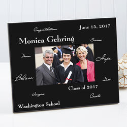 Words to Inspire Personalized Frame