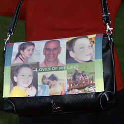 Ladies Personalized Photo Purse
