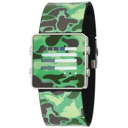 Unisex ZenH Camouflage Green Aluminum Watch