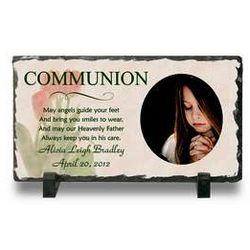 Communion Photo Plaque