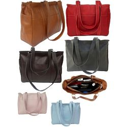 Small Leather Shopping Bag