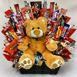 Cuddles and Hugs Candy Bouquet