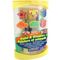 Washable Paint and Stampers Set