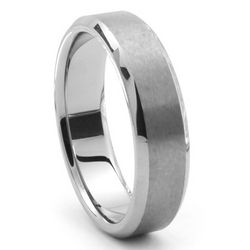 Men's Corsa Tungsten Wedding Band