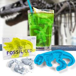 Fossilized Dinosaur Ice Cube Trays