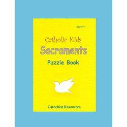 Kid's Catholic Sacraments Puzzle Book