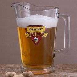 Cheers Tavern Personalized Pub Pitcher